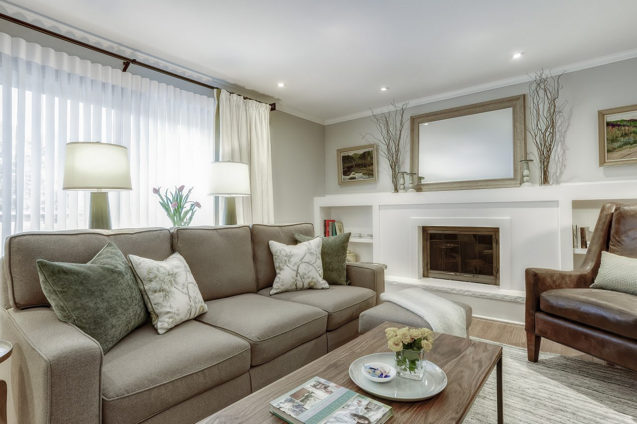 Jacklynn Little Interiors - Client's Family room design