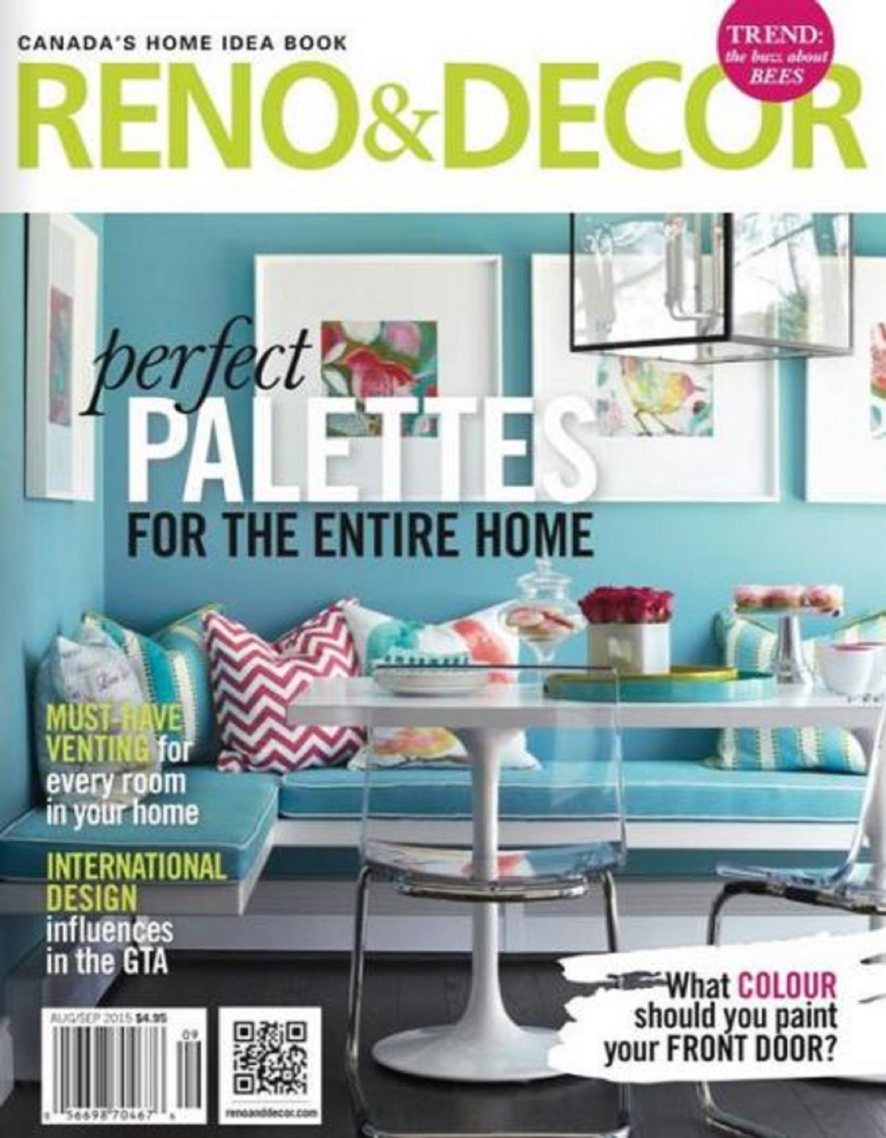 Jacklynn Little Interiors Published Article Reno and Decor magazine Aug/Sept 2015