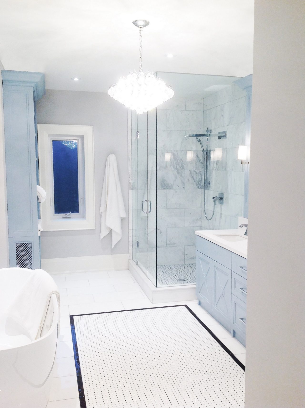 Rosedale Master Bathroom Interior Design